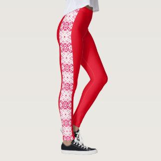 """Fresh Legs"" Side Pattern Leggings 4"