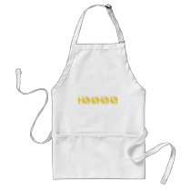Fresh Lemon Pattern Adult Apron