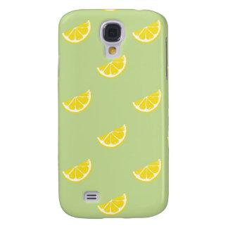 fresh lemon pattern HTC vivid tough Galaxy S4 Cover