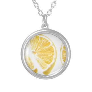 Fresh Lemon Pattern Necklace