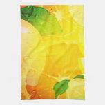 Fresh Lemon Slices American MoJo Towel