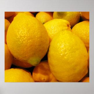 """Fresh Lemons 24""""x20"""" Poster"""