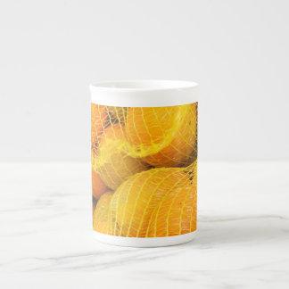 Fresh Lemons Bone China Mug