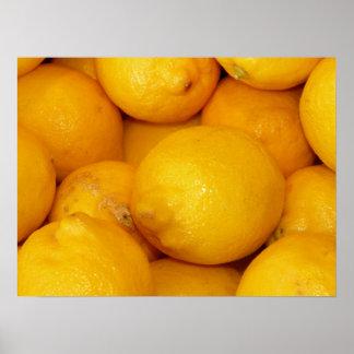 Fresh Lemons Print