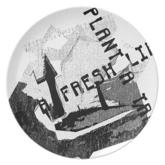 Fresh life Plate