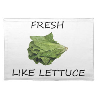 Fresh Like Lettuce-Placemat Cloth Placemat