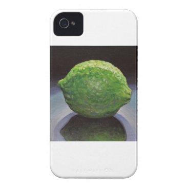 Beach Themed Fresh Lime iPhone 4 Case