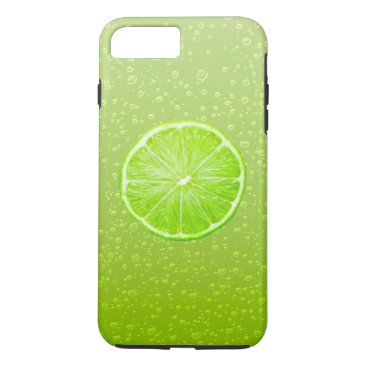Beach Themed Fresh Lime iPhone 7 Plus Case