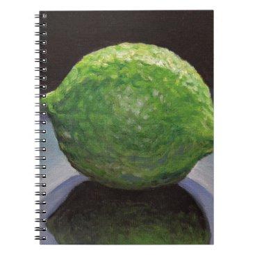 Beach Themed Fresh Lime Notebook