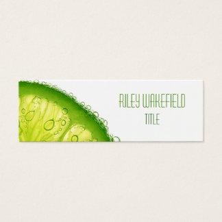 Fresh Lime Slice Business Card
