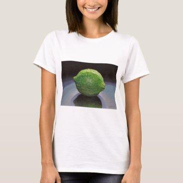Beach Themed Fresh Lime T-Shirt