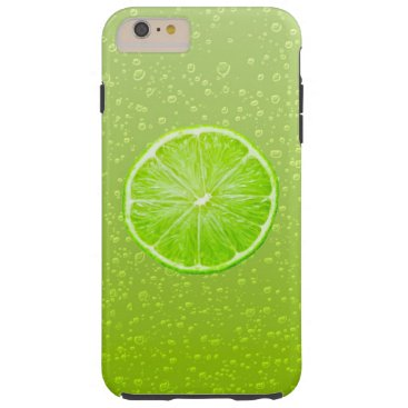 Beach Themed Fresh Lime Tough iPhone 6 Plus Case