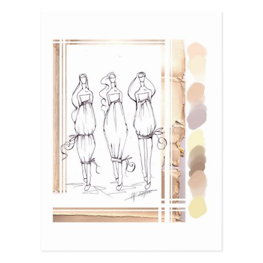 fresh linen post cards