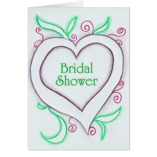 Fresh Love Abstract Wedding Invitation