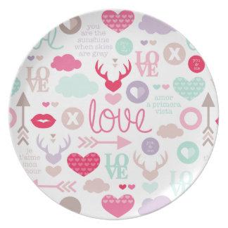 Fresh Love Plate