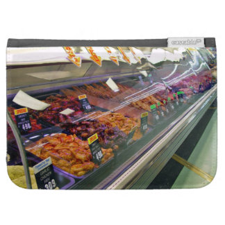 Fresh Meat Deli Counter at supermarket Case For The Kindle
