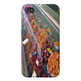 Fresh Meat Deli Counter at supermarket iPhone 4 Cover