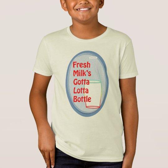Fresh Milk's Gotta Lotta Bottle T-Shirt