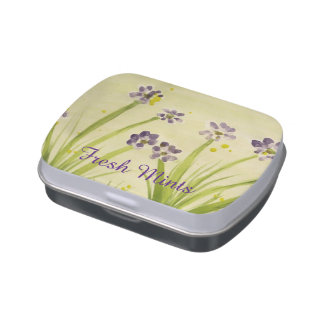 Fresh mint candy tin