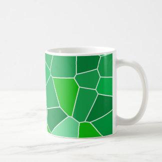 Fresh modern organic pattern classic white coffee mug