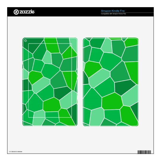 Fresh modern organic pattern decals for kindle fire