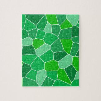 Fresh modern organic pattern jigsaw puzzle