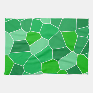 Fresh modern organic pattern kitchen towels