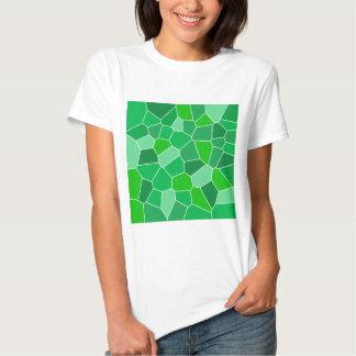 Fresh modern organic pattern tee shirts