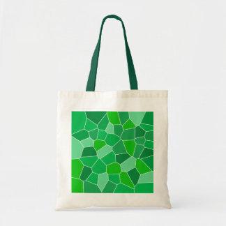 Fresh modern organic pattern tote bags