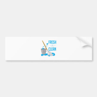 Fresh N Clean Car Bumper Sticker