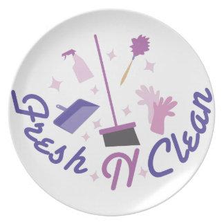 Fresh n Clean Dinner Plate