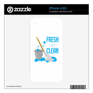 Fresh N Clean Decals For The iPhone 4
