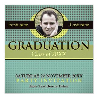 Fresh Nature Graduation w/ Photo Invitation