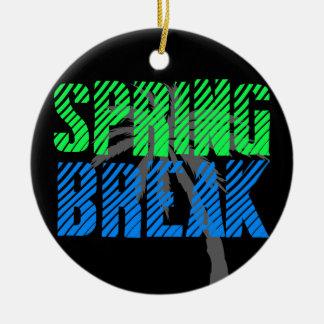Fresh Neon Spring Break Ornaments