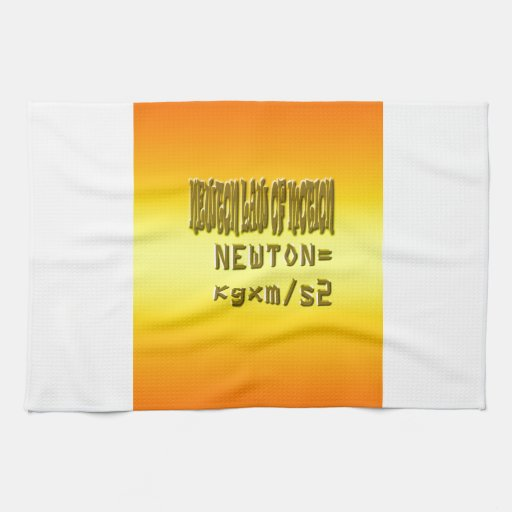 Fresh newton law of motion kitchen towels