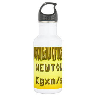 Fresh newton law of motion stainless steel water bottle