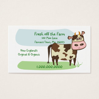 Fresh off the Farm Business Card