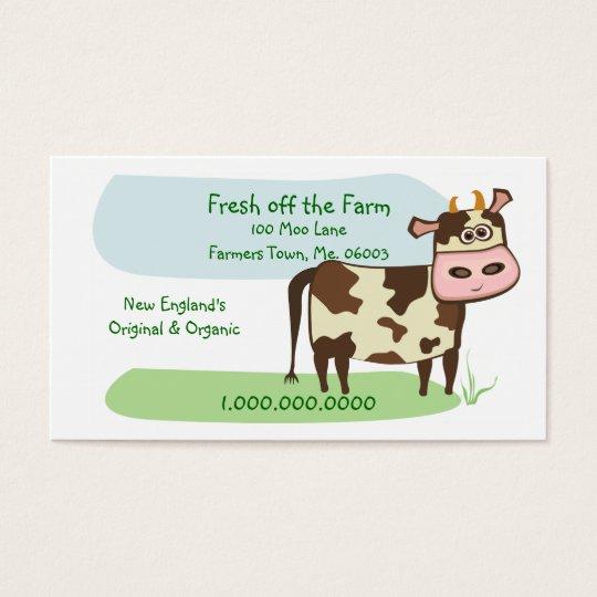Fresh off the Farm Business Card