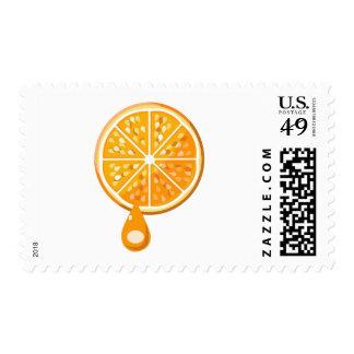 Fresh Orange Postage