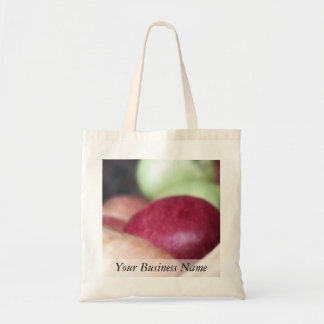 Fresh Organic Apples Tote Bag
