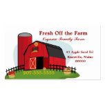 Fresh Organic Farming Double-Sided Standard Business Cards (Pack Of 100)
