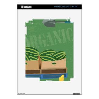 Fresh Organic Melons iPad 3 Skin