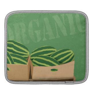 Fresh Organic Melons iPad Sleeve