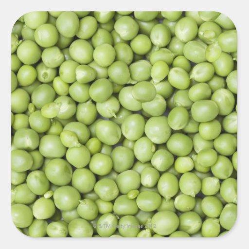 Fresh organic peas 2 sticker