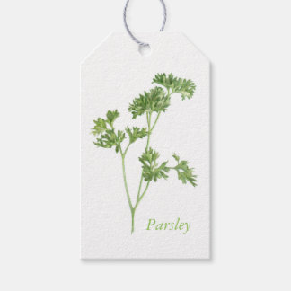 Fresh Parsley Gift Tags