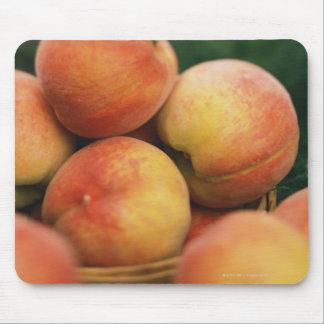 Fresh peaches mouse pad
