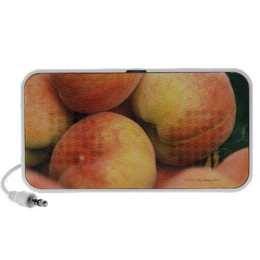 Fresh peaches portable speaker