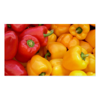 Fresh Peppers Business Card