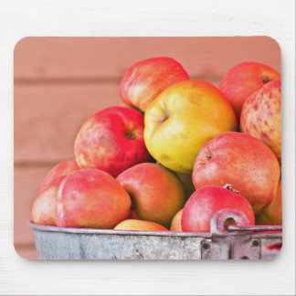 Fresh Picked Apples Mouse Pad