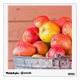 Fresh Picked Apples Wall Graphics